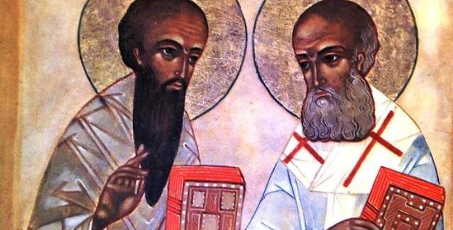 Odprtje razstave Ciril in Metod – bizantinska misijonarja