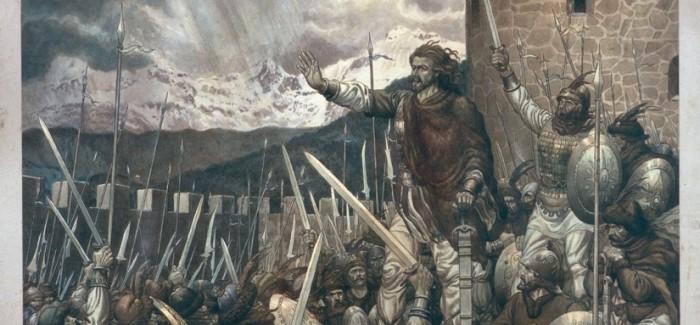 Odprtje razstave Črtomirov poslednji boj