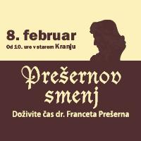 Slovenski kulturni praznik – Prešernov smenj