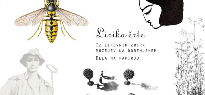 Razstava vseh muzejev Gorenjske Lirika črte se odpira v Kamniku
