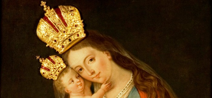 K Mariji Pomagaj na Brezje, razstava v galeriji Družina