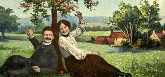 Odprtje razstave Prejmi prisrčen pozdrav – romantične razglednice 20. stoletja