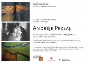Odprtje razstave fotografskih del Andreje Peklaj @ Mestna hiša | Kranj | Kranj | Slovenija