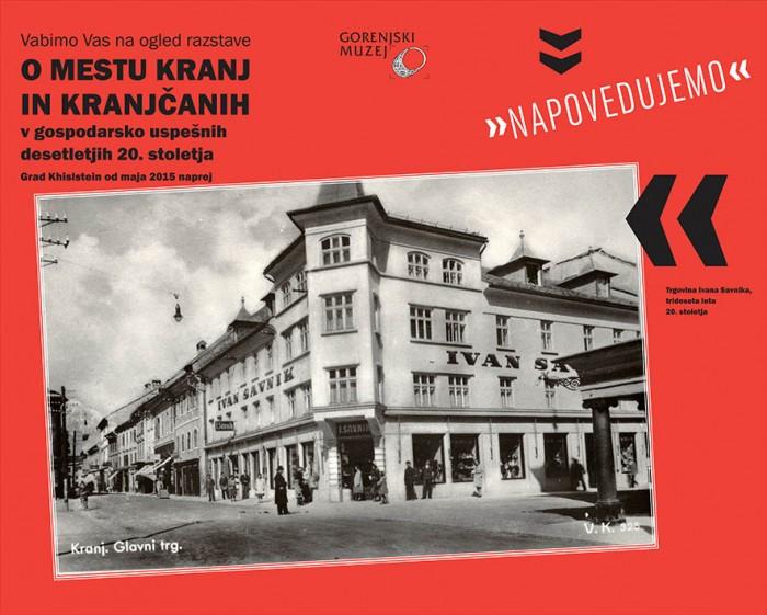 Exhibition opening Gentelmen and comrades – the capitalist and socialist development of Kranj 1920-1980
