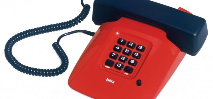 Odprtje razstave Zbirka telefonov Iskra