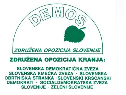 Muzejski večer Prve demokratične volitve 1990 v Občini Kranj – rezultati Študijskega krožka