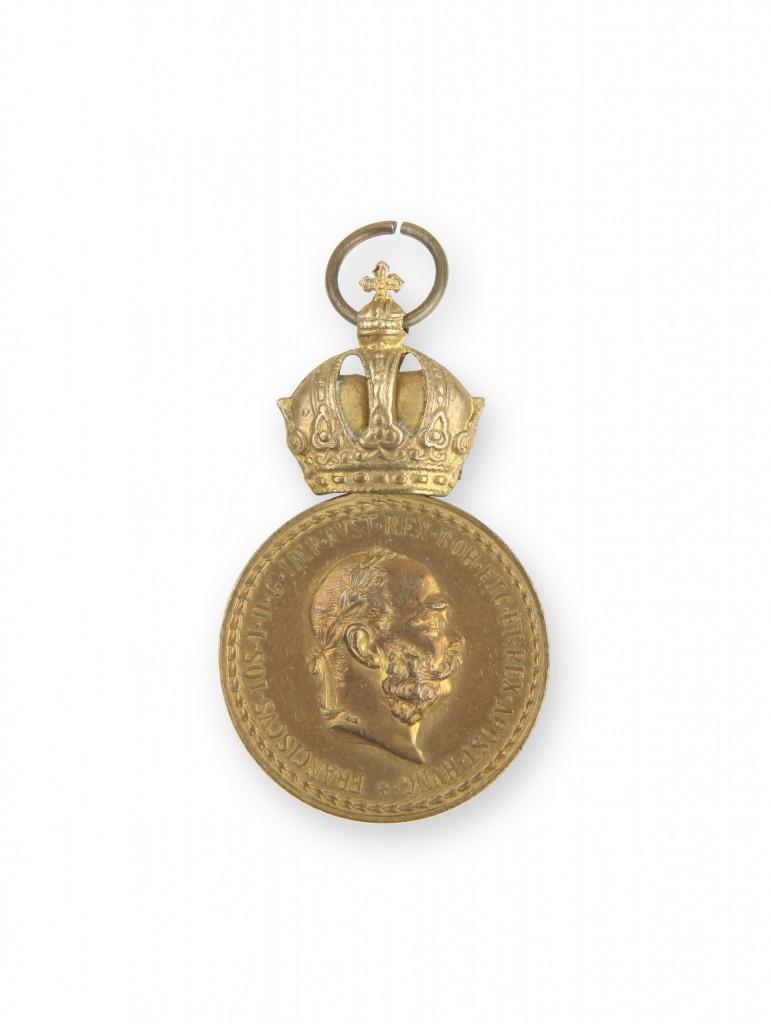 Bronasta vojaška zaslužna medalja Signum Laudis A