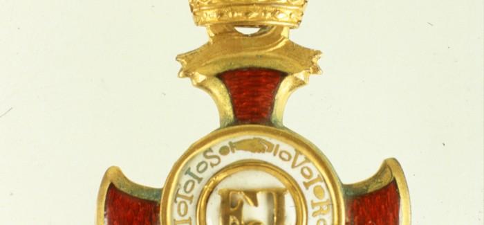 (Slovenski) Odprtje razstave Njim, ki junaki so najbolji, svetinje zlate daje v dar – Gorenjci in odlikovanja v prvi svetovni vojni