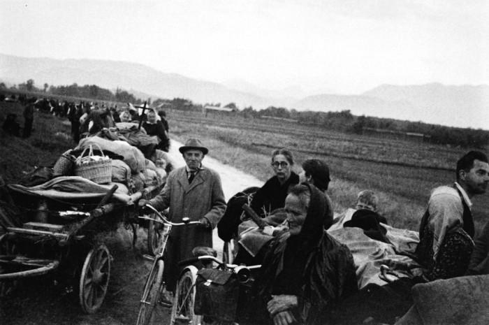 Odprtje razstave Umik čez Ljubelj 1945, fotograf Marjan Kocmur