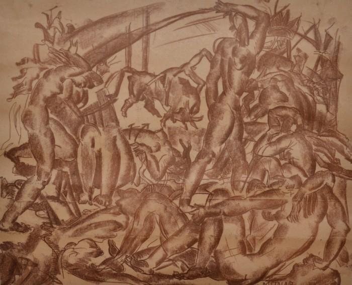 Odprtje razstave grafik Lojzeta Dolinarja