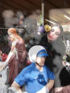 Eva Petric, Shadows&Puppets series 1, 2010, lcomposite- ambda druck auf aludibond und direkt druck auf plexi, 84 cm x 63 cm x 5 cm