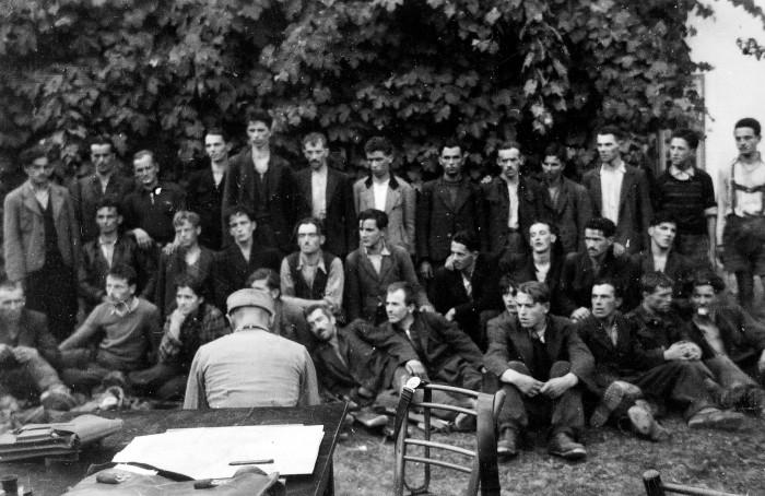 (Slovenski) Muzejski večer Predstavitev kataloga Nemci in partizani