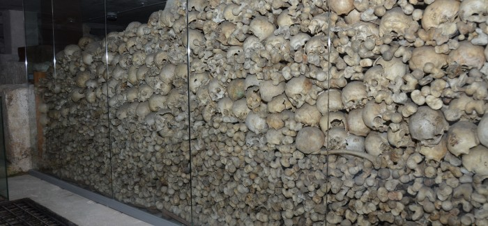 The Ossuary is CLOSED