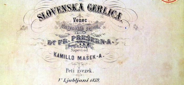 Odprtje razstave Prešernova gerlica