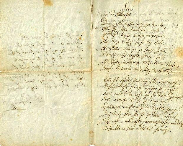 Prešernova rokopisa najdena na ameriških tleh; gost prof. dr. Miran Hladnik