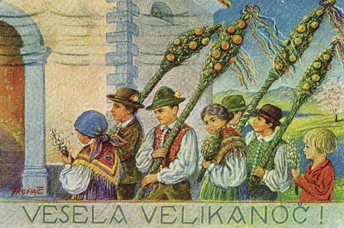 Muzejska vitrina Vesela Aleluja – Praznujemo Veliko noč