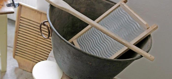 Odprtje razstave Žehta – Kako so prali pred nakupom pralnega stroja?