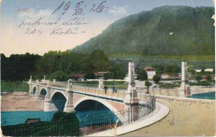 Odprtje razstave Kranjski mostovi