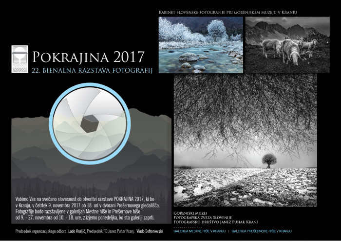 Fotografska razstava Pokrajina 2017