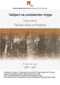 [:SI]Trenutki tišine za Prešerna[:] @ Čopova rojstna hiša | Jesenice | Slovenija