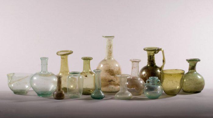 Predstavitev vitrine mesece Magična moč antičnega stekla