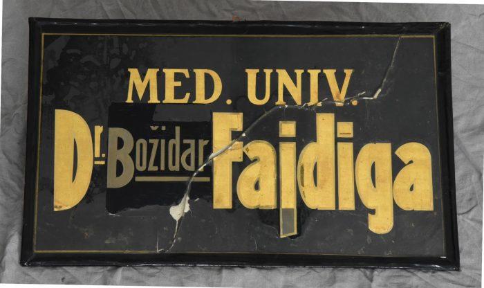 Odprtje razstave Zdravnik dr. Božidar Fajdiga in njegova ambulanta