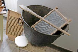 Gostovanje razstave Žehta - kako so prali perilo pred nakupom pralnega stroja? @ Liznjekova domačija | Jesenice | Slovenija