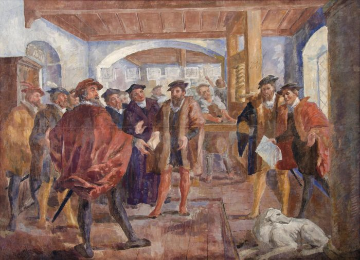 Odprtje razstave Grad Khislstein in zgodbe rodbine Khisl
