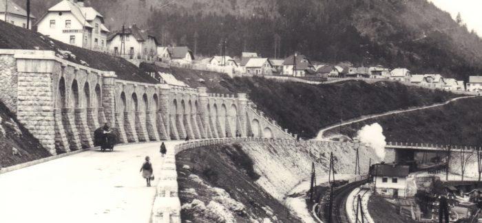 (Slovenski) Odprtje razstave Glavna dovozna žila Kranja – Gradnja Gaštejskega klanca 1936 – 1938