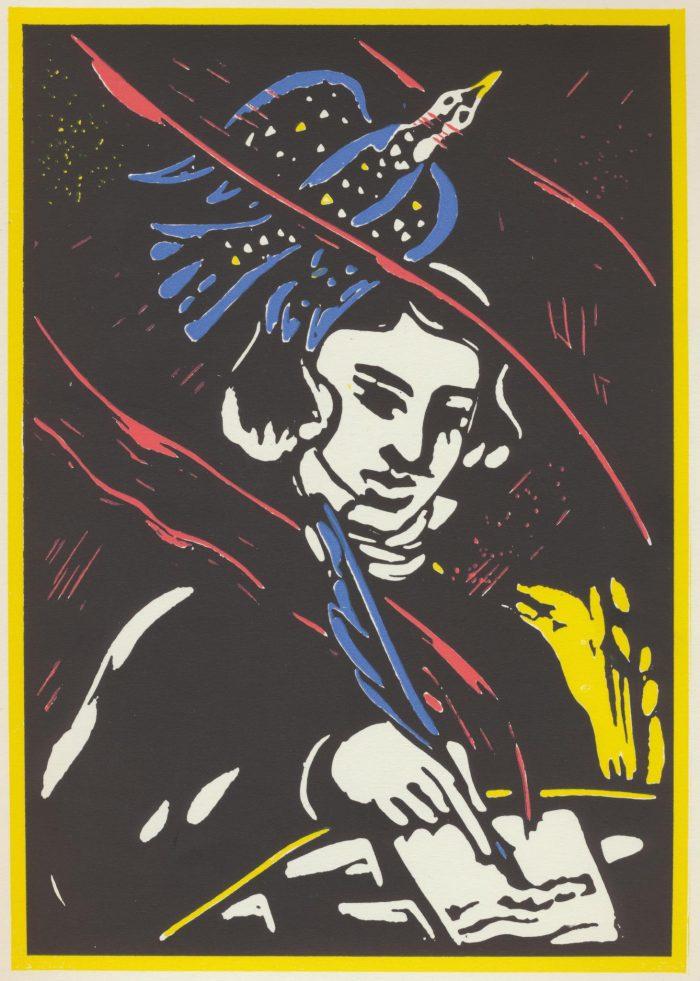 Odprtje razstave Malešev Sonetni venec