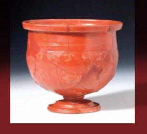 Vitrina meseca Najbolj značilna rimskodobna keramika Terra Sigillata @ Mestna hiša
