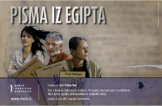 Noč raziskovalcev, projekcija filma Pisma iz Egipta