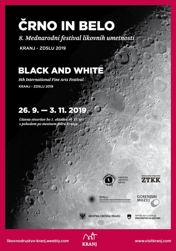 8. Mednarodni festival likovnih umetnosti, Črno in belo