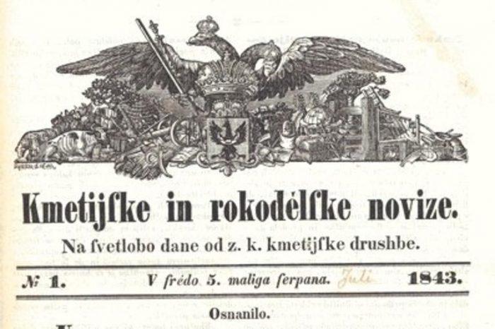 Zgodovinski dan Bleiweis, Novice in narodno prebujanje