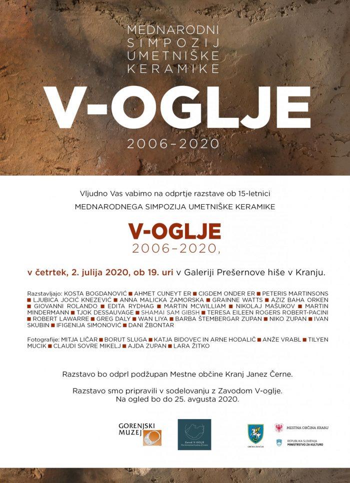 Odprtje razstave Mednarodni simpozij umetniške keramike V-Oglje 2006-2020