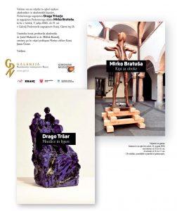 Odprtje razstave Draga Tršarja in Mirka Bratuše @ Galerija Prešernovih nagrajencev