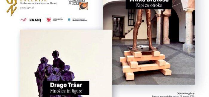 Odprtje razstave Draga Tršarja in Mirka Bratuša
