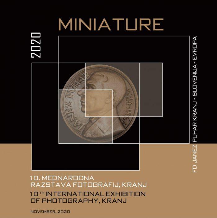 Razstava Miniature 2020