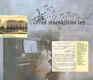 Razstava 111 let Glasbene šole Kranj @ Grad Khislstein