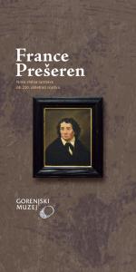 Spletno odprtje nove stalne razstave o pesniku Prešernu @ Spletna stran