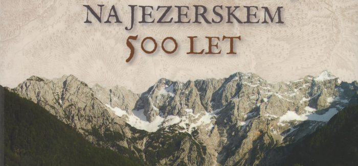 Knjiga o Šenkovi domačiji na Jezerskem
